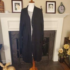 Denim & Co. Regular Long Sleeve Button Cardigan